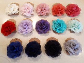 Haarclips bloem