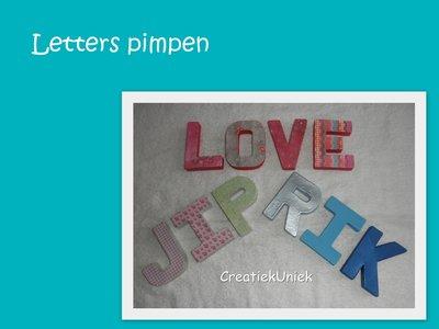 KF Letters pimpen