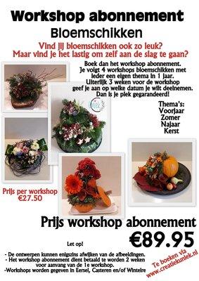 Workshop abonnement