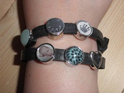 Dubbele slider armband