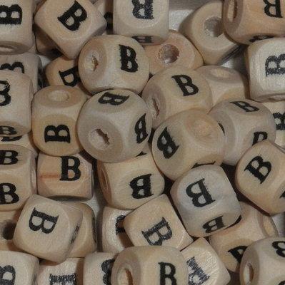 Houten letterkraal B