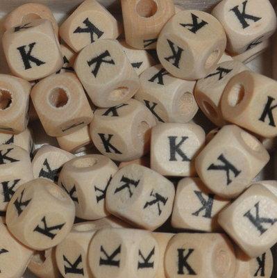 Houten letterkraal K