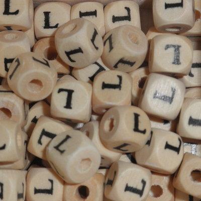 Houten letterkraal L