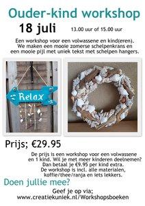 Ouder kind workshop 18-7 15.00-16.30 uur