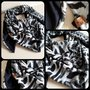Sjaal zebra rechthoekig