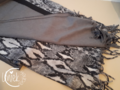 Sjaal snake rechthoekig