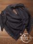 Sjaal driehoek donkerblauw