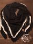 Sjaal driehoek zwart